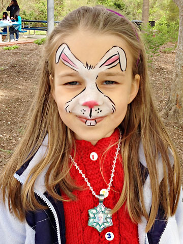 Easter Bunny Face Painting Photo Album - The Miracle of Easter
