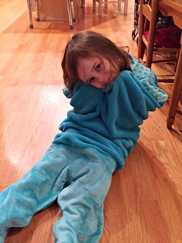 bday mermaid tal hug