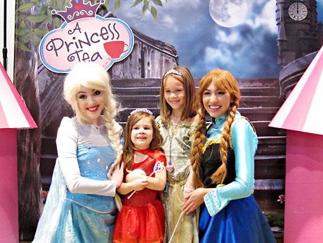 bday tea princesses