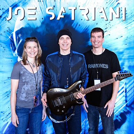 Joe Satriani is totally holding my guitar