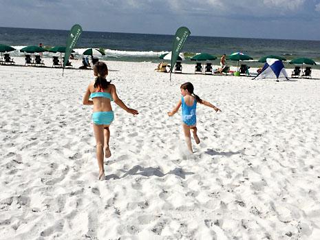 beach 1st day