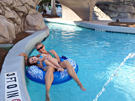 beach lazy river with M