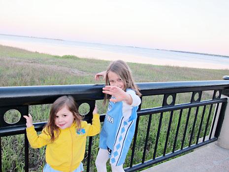 birthday charleston girls late evening