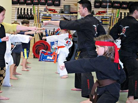 birthday karate lead class