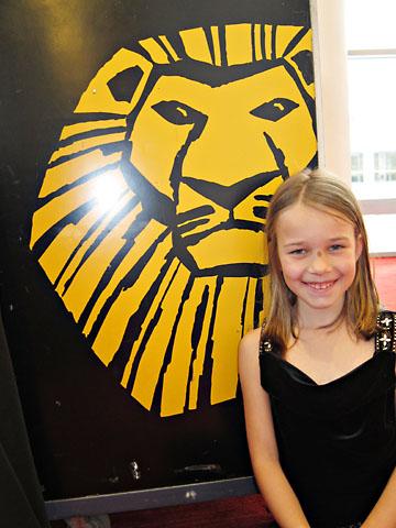 birthday lion king sign